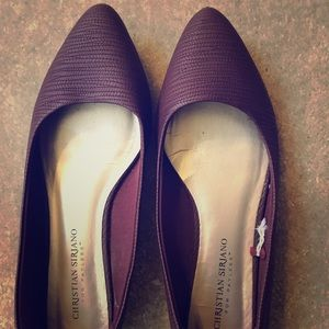 Purple flats. Only worn a few times